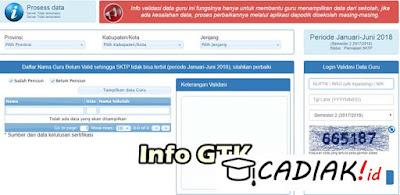 Cara Cek Info GTK Dengan Cepat Tanpa Harus Login SIM PKB