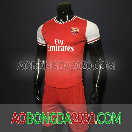 Mẫu Áo Arsenal Đỏ Mùa Giải 2020 Sân Nhà