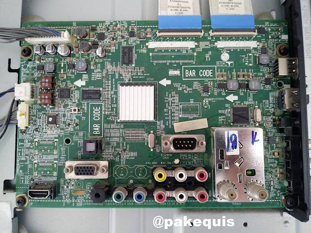 TV LG 42 polegadas conserto