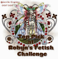 Top 3 at Robyn's Fetish Challenge