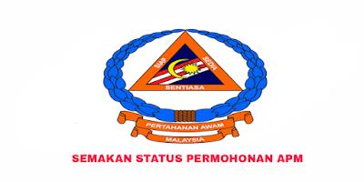 Semakan Status Permohonan APM 2019 Online