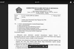 Format Surat Tugas Operator Sekolah untuk Kelola Verval PD
