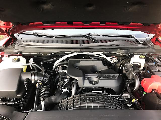 Engine in 2020 Ford Ranger Supercrew 4X4 Lariat