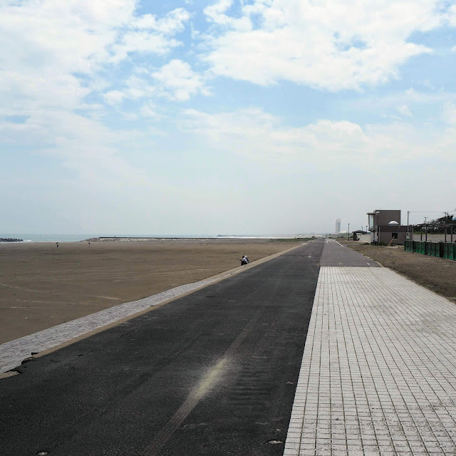飯岡九十九里自転車道 矢指ケ浦海水浴場