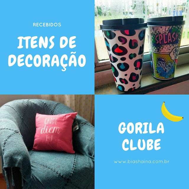 Recebidos do Mês: Artigos de Decoração da Loja Gorila Clube
