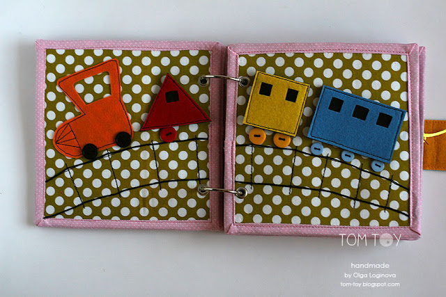 Little quiet books for Aya Handmade by TomToy