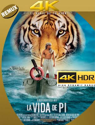 La Vida De Pi: Una Aventura Extraordinaria (2012) BDRemux 4k [2160p] Latino [GoogleDrive] [MasterAnime]