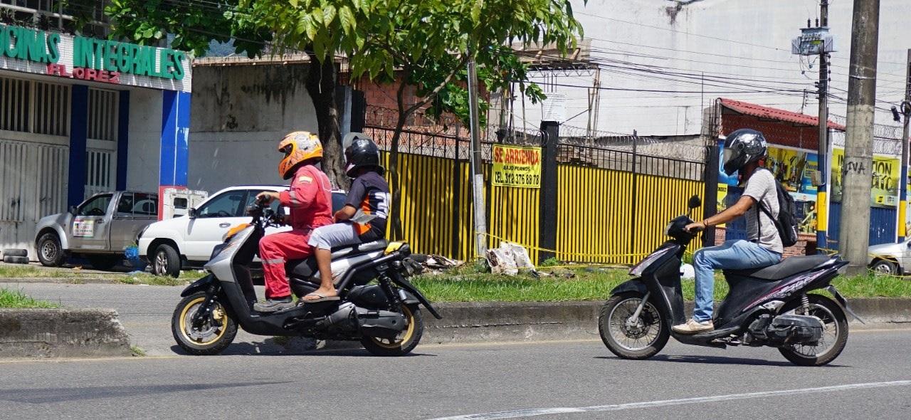Continua restricción de motocicletas en Villavicencio