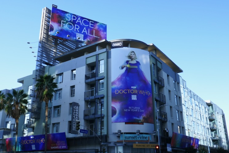 Doctor Who season 12 billboards