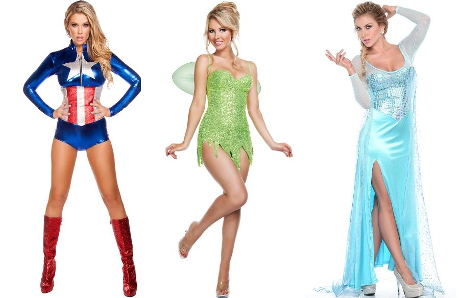 girl in tinkerbell costume fucks
