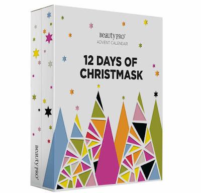 BeautyPro 12 DAYS OF CHRISTMASK Advent Calendar 2020