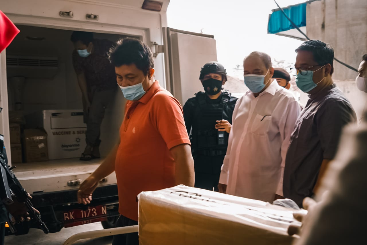 Kota Tebingtinggi Mendapat Jatah Tiga Ribu Vaksin Covid-19