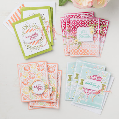 Gorgeous cards made easy with this Incredible Like You Project Kit. Just add inks and the stamp set. See all the details here - http://bit.ly/IncredibleLikeYouProjectKit