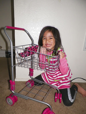 Pretend Play Shopping Cart From Precious Toys