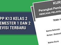 RPP K13 Kelas 2 Semester 1 dan 2 Revisi Terbaru