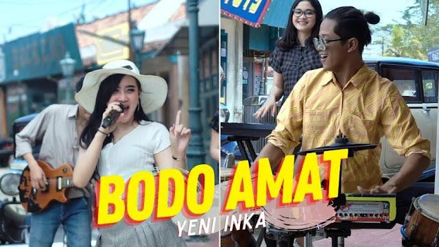 Lirik lagu Bodo Amat Yeni Inka ft Yayan Jandhut
