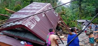 Banjir Tapteng Telan 4 Korban Jiwa, Ratusan Warga Mengungsi