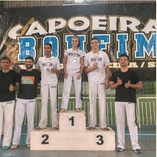 Capoeira Bonfim de Cananéia a todo vapor