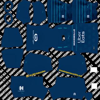 Olympique de Marseille DLS Kit 2021