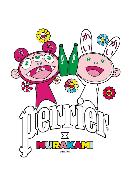 Takashi Murakami X Perrier Original