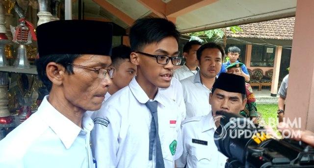 Siswa MAN 1 Sukabumi Menyesal Kibarkan Bendera Khilafah HTI