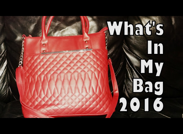 What's In My Handbag (Part 7) - The 2016 Edition