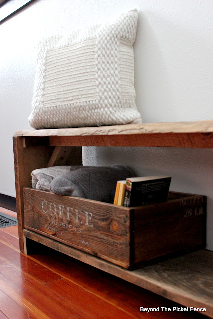 Build and Stencil a Wood Crate