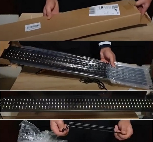 Unboxing Yescom LED Lights
