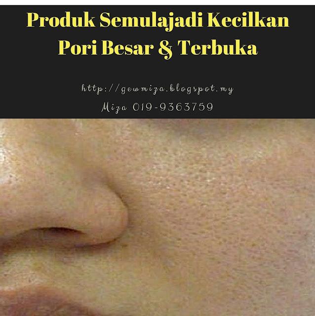 produk kecilkan pori wajah secara semulajadi