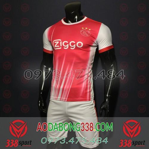 Áo Ajax Đỏ Trắng 2020 Training 4