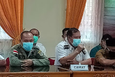 Jelang Pengamanan Idul Fitri, Camat Nanga Pinoh Hadir Rapat Koordinasi Lintas Sektoral