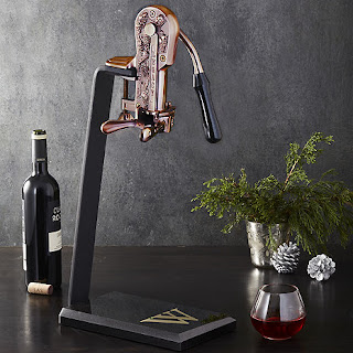 K'Mich Weddings - wedding planning - legacy corkscrew with black marble stand and handle - wine enthusiast