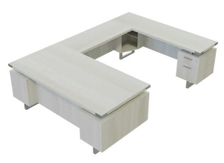 Safco Mirella U-Desk