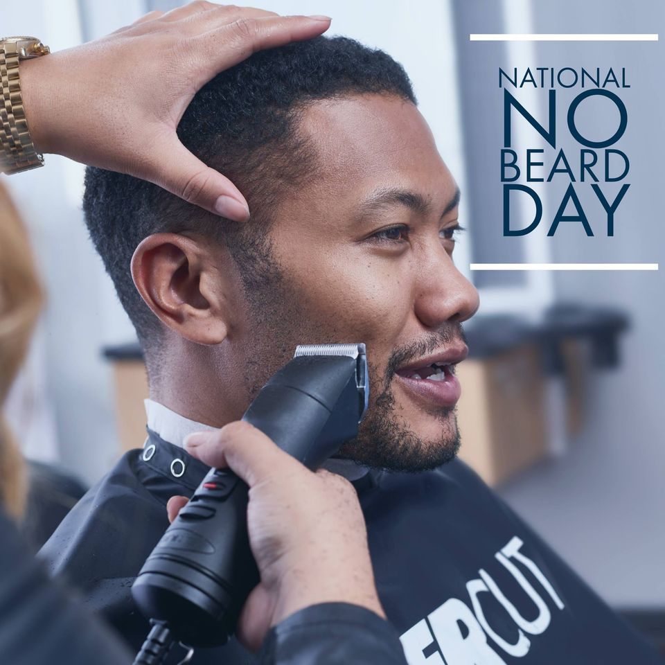 National No Beard Day Wishes Awesome Picture