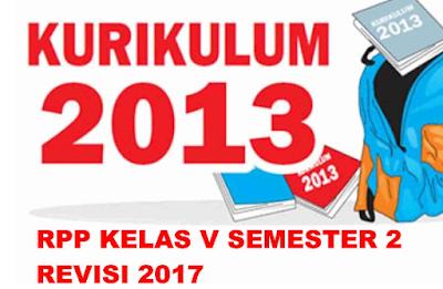 Download Perangkat Pembelajaran Gratis Kelas V semester 2 Kurikulum 2013 revisi 2017