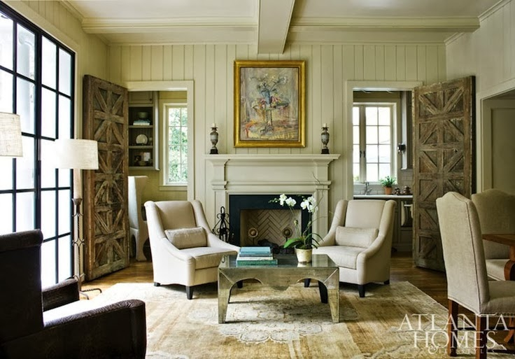 This Traditional Style Mantle Is Made More Modern By Painting It The