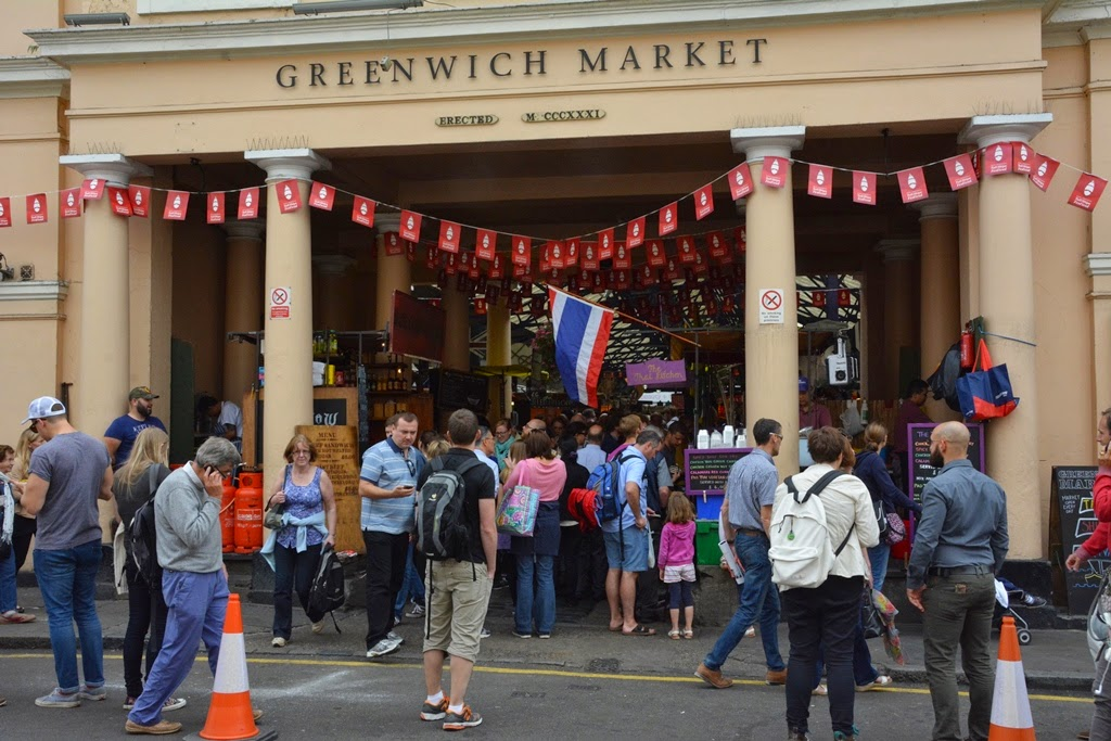 Greenwich London market