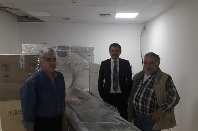 Αξονικός τομογράφος στο Νοσοκομείο Ναυπλίου