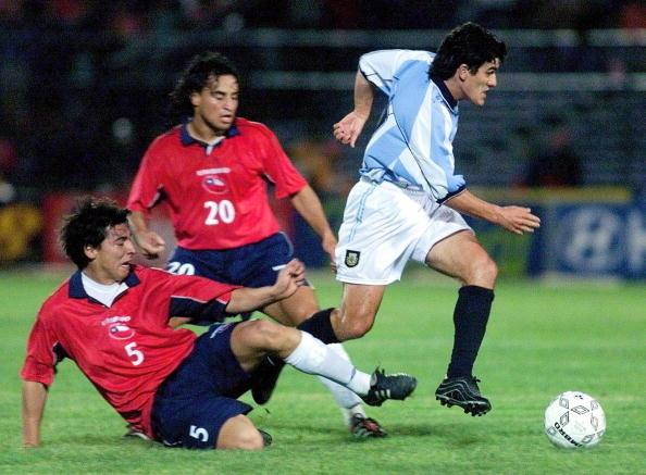 Chile y Argentina en Clasificatorias a Corea/Japón 2002, 15 de noviembre de 2000