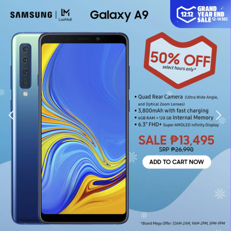 Galaxy A9 price cut