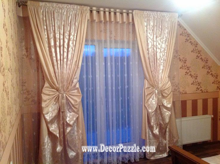 The best curtain styles and designs ideas 2017 for Bedroom curtains designs in pakistan