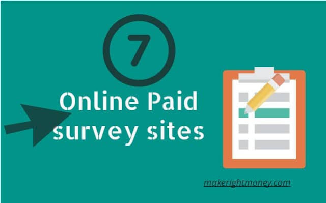 7 survey sites paid real money online