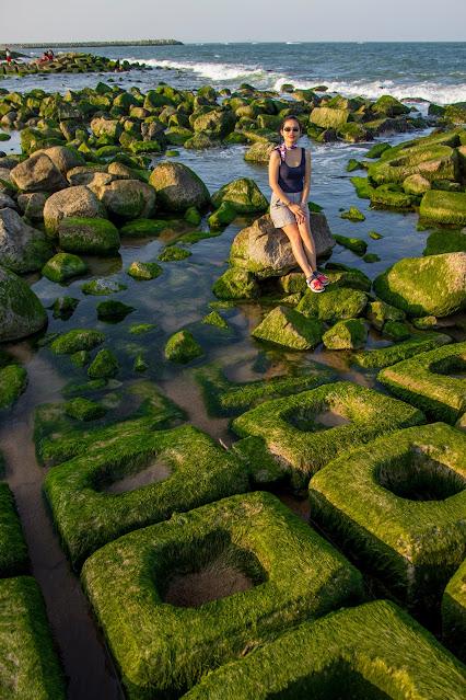 Bãi rêu xanh xóm Rớ, Phú Yên