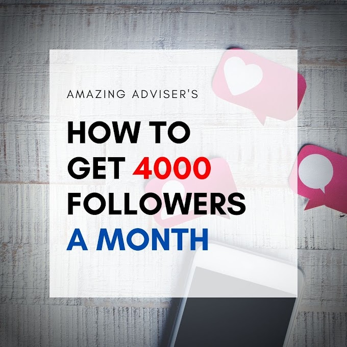 HOW DO YOU GET 4000 FOLLOWERS A MONTH, WITHOUT POSTING EVERYDAY?