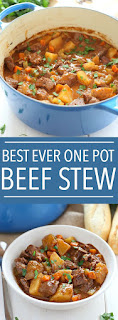Best Ever One Pot Beef Stew is an easy
