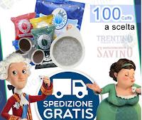 Logo Super Sorteggio: vinci gratis 100 Caffè Borbone con miscela a scelta