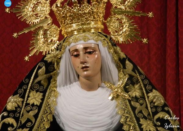 Suspensión del traslado de la Virgen de la Presentación del Calvario de Sevilla