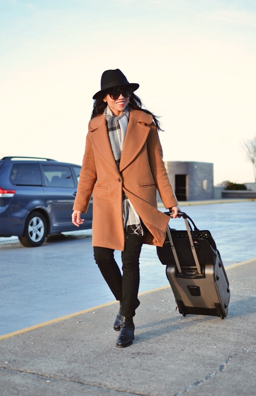 What to wear on a flight in Winter
