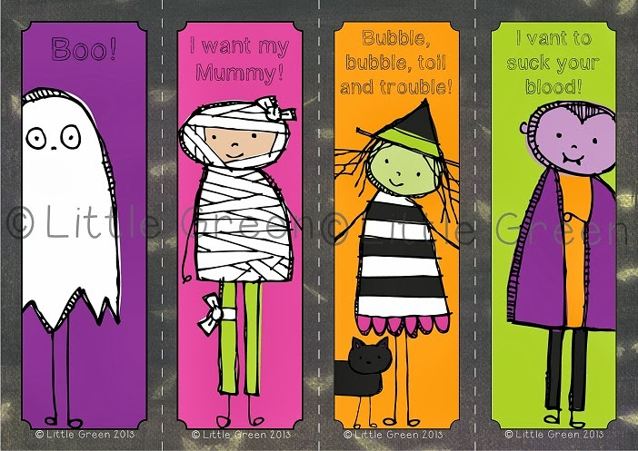 http://www.teacherspayteachers.com/Product/FREE-Spooky-Bookmarks-for-Halloween-907181