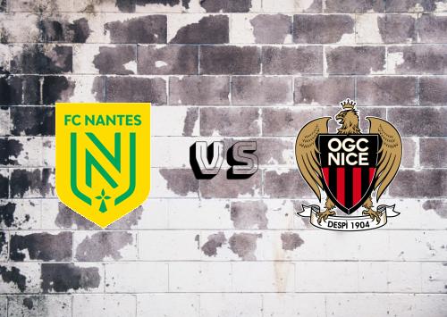 Nantes vs Nice  Resumen